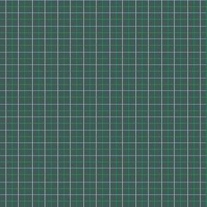 Animal Dream Otter_green grid