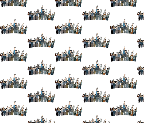 Newsies in Defiance fabric by tlchproductions on Spoonflower - custom fabric
