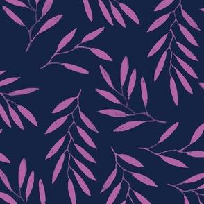willow - indigo Orchid
