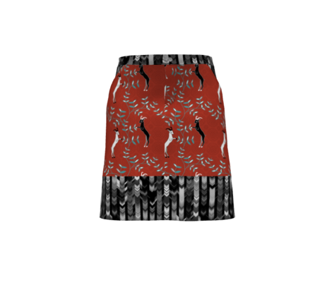 CRAZY CHEVRONS ARROWS BLACK AND WHITE CHARCOAL SNOW