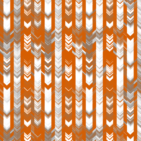 CRAZY CHEVRONS ARROWS AZTEC TRIBAL CHALK CHARCOAL AUTUMN fabric by paysmage on Spoonflower - custom fabric