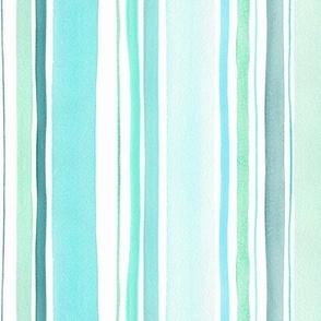 Aqua blue stripes