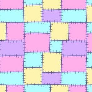 Pastel patchwork