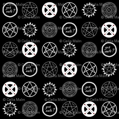 Supernatural Basic Wallpaper Veritybrown Spoonflower