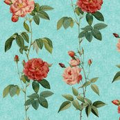 Rantique_roses_in_rows_on_blue_-_revised_-_vertical_shop_thumb