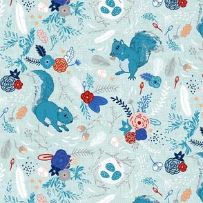 Squirrels (custom colour 4)
