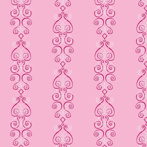 Ornate in Pink: Modern Inspired Victorian