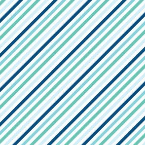 Blue Candy Stripe