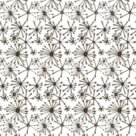 seed pod fabric by fallingladies on Spoonflower - custom fabric