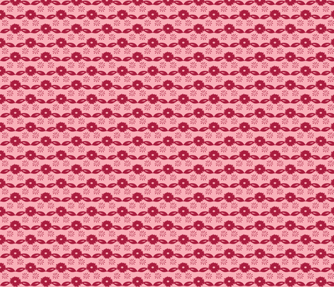 Llama BrightFolk Coordinate fabric by onelittleprintshop on Spoonflower - custom fabric