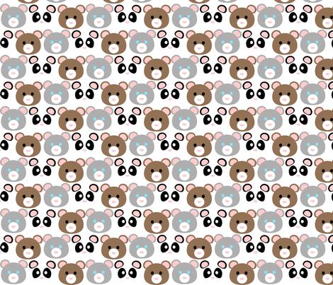 Koo-ma trio fabric by koo-ma_designs on Spoonflower - custom fabric