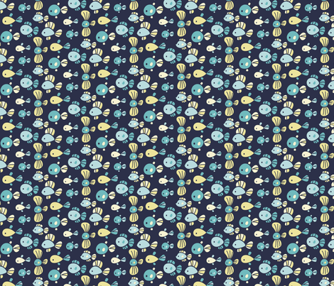 fish-coord-01 fabric by katuno on Spoonflower - custom fabric