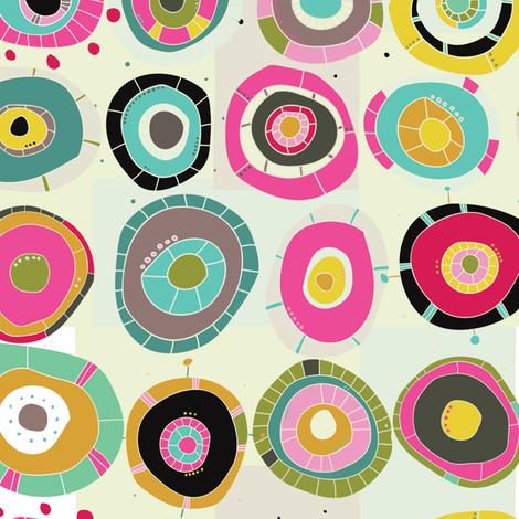 I Am Contagious fabric by tiffanyheiger on Spoonflower - custom fabric