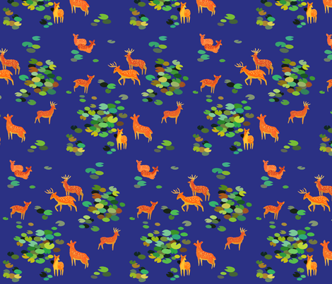 Forest Spirits fabric by alyssakorea on Spoonflower - custom fabric