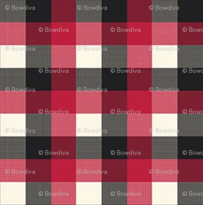 Buffalo Plaid black Red Grey Checker Lumberjack Flannel