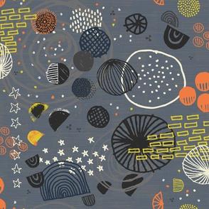 Orbiting Celestial Bodies by Friztin