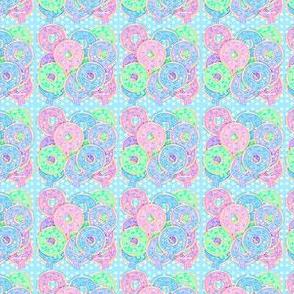 Om nom nom Donuts Pastel