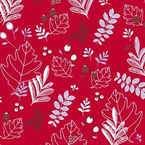 Snowberries & Little Cones - berry