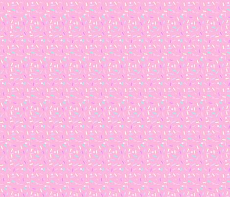 Pink Sprinkles fabric by lavender- on Spoonflower - custom fabric