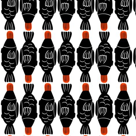 Fishy - 3inch fabric by elliewhittaker on Spoonflower - custom fabric