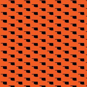 Oklahoma Tiled - Orange