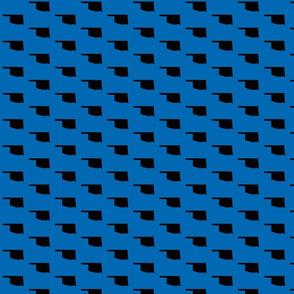 Oklahoma Tiled - Blue