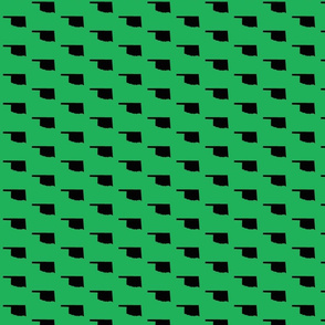 Oklahoma Tiled - Green