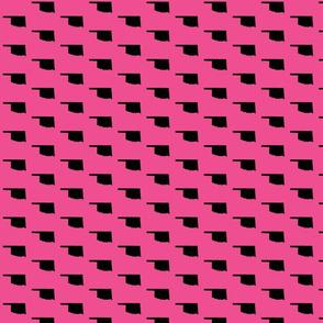 Oklahoma Tiled - Pink