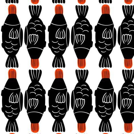 Fishy fabric by elliewhittaker on Spoonflower - custom fabric