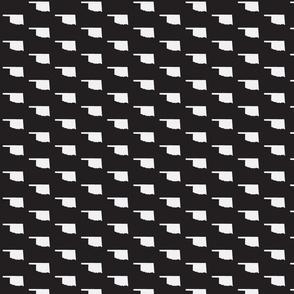 Oklahoma Tiled - Black