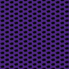 Washington Tiled - Purple