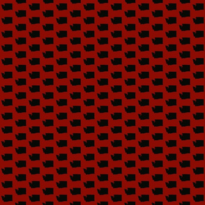 Washington Tiled - Red