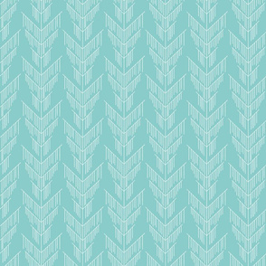 Falling Turquoise