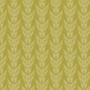 Falling Green Moss