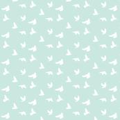 Doves in Flight, SeaSpray