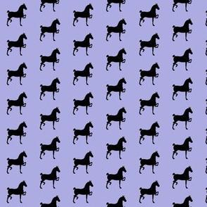 hackney pony (lt blue & black)