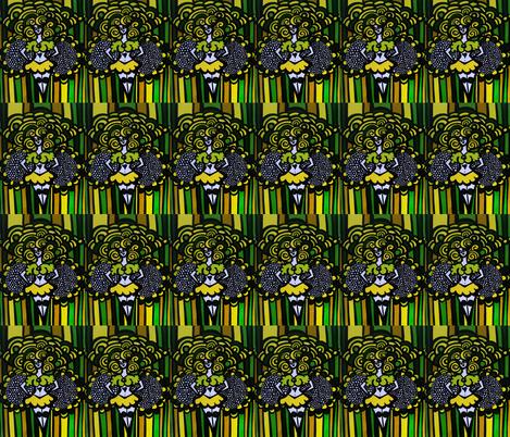good_energy_packer_cheerleader58 fabric by heatherpeterman on Spoonflower - custom fabric
