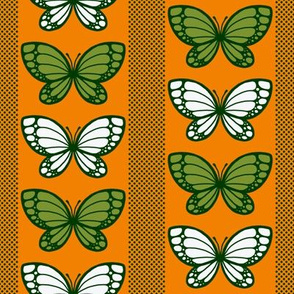 Butterflies - Flying Stripes (Orange)