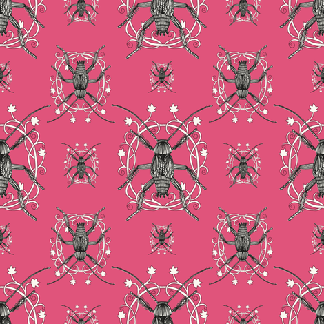 Lovely Cockroaches fabric by seesawboomerang on Spoonflower - custom fabric