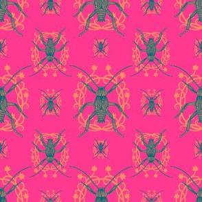 Neon Cockroaches