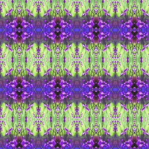 Pussywillows Blue-Purple-Green