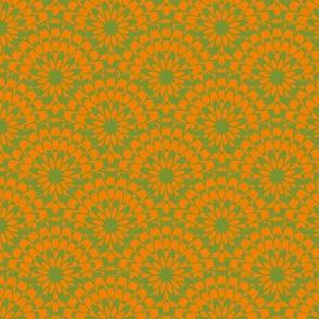 Butterflies - Zinnia (Orange and Green)