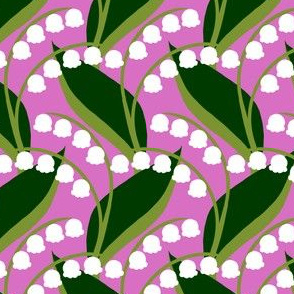 Butterflies - Lily-of-the-Valley (Pink)