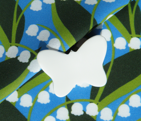 Butterflies - Lily-of-the-Valley (Blue)
