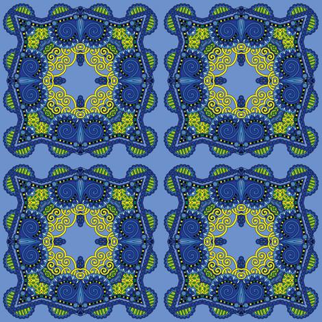 blue lemonade lll fabric by janbalaya on Spoonflower - custom fabric