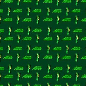 greenarrow fabric, wallpaper & gift wrap - Spoonflower