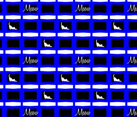 Meow! fabric by verystarry on Spoonflower - custom fabric
