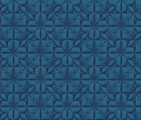 GIMP_SSD_radial_blend_pinched_tiled_pasted_2x2_blocks_dk_bG_9x9_in fabric by missourah_gal on Spoonflower - custom fabric