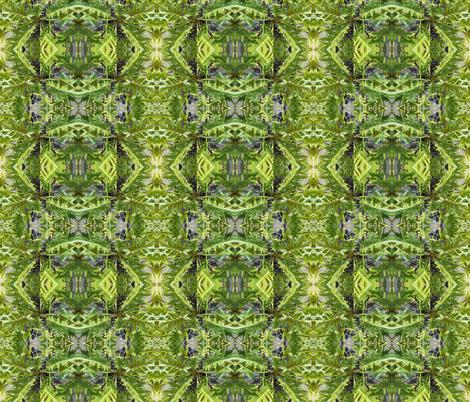 Wild Green Magic (Ref. 4515) fabric by rhondadesigns on Spoonflower - custom fabric