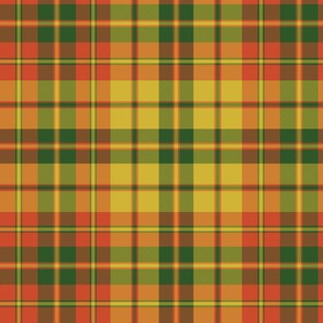 Strathearn royal tartan, bright